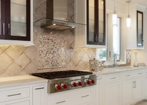 Viking Cooktop Custom Cabinets